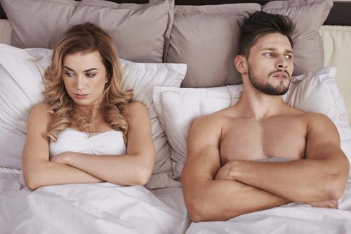 onzeker tijdens seks
