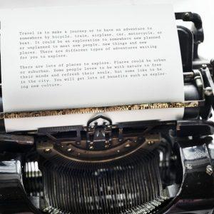 bloggers delen geen echte verhalen