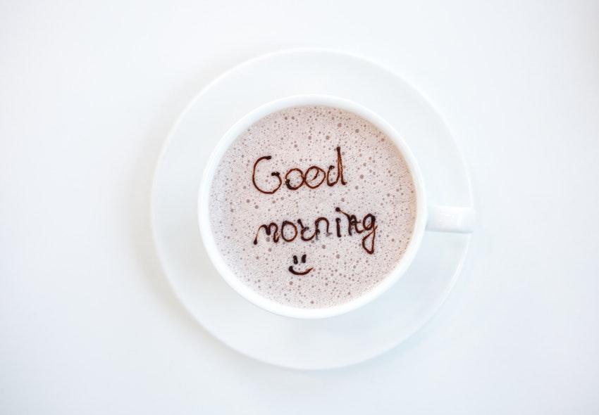 een fijne ochtendroutine