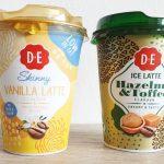 Happy to try   DE Ice coffee   Hazelnut & Toffee en Skinny Vanilla Latte
